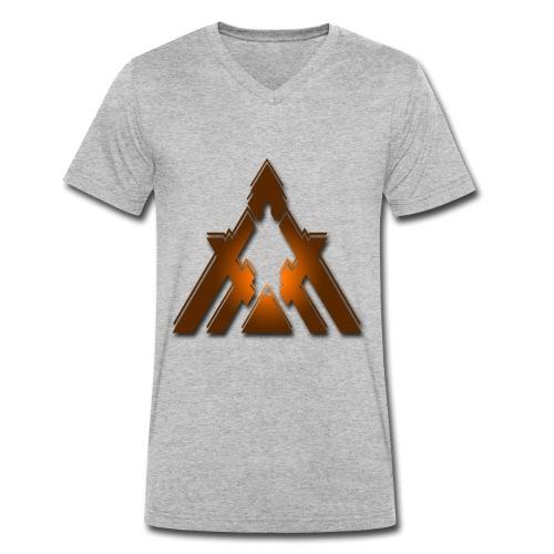 Jaffa Tint Helios - Men's Organic V-Neck T-Shirt by Stanley & Stella