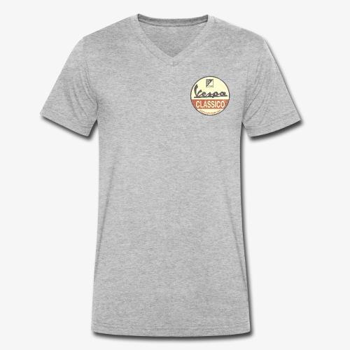 VCA Clublogo Vintage used look - Männer Bio-T-Shirt mit V-Ausschnitt von Stanley & Stella