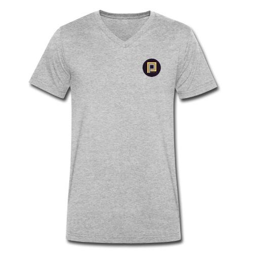 Plastik People Recordings - Men's Organic V-Neck T-Shirt by Stanley & Stella