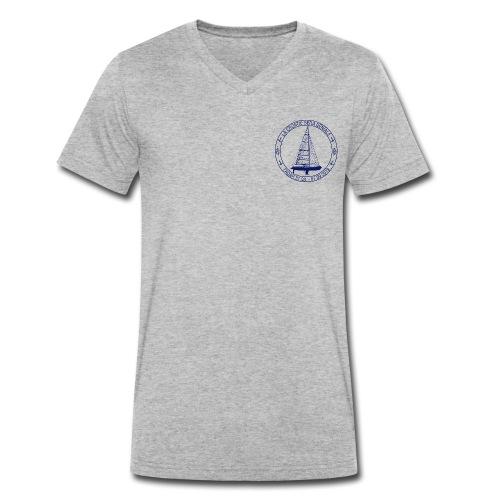 kroatien wird megablau - Männer Bio-T-Shirt mit V-Ausschnitt von Stanley & Stella