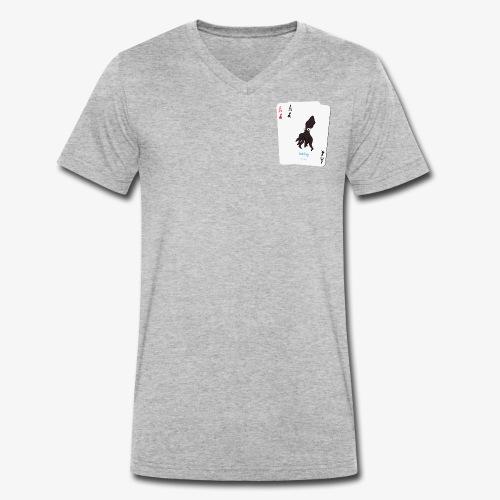 Le Gambler - T-shirt bio col V Stanley & Stella Homme