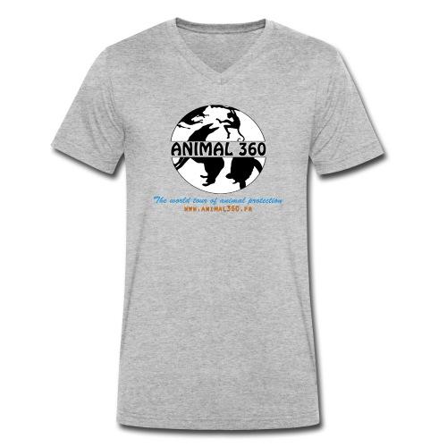 Animal360.fr - T-shirt bio col V Stanley & Stella Homme