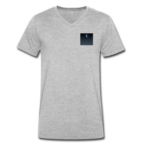 ISLE OF MAN QED - Men's Organic V-Neck T-Shirt by Stanley & Stella