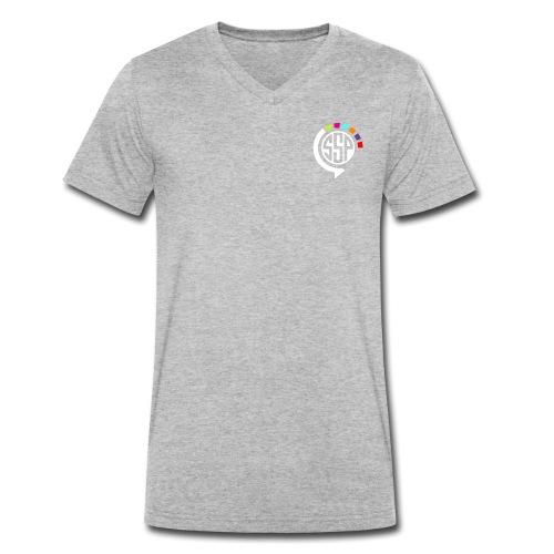 logossp1 - T-shirt bio col V Stanley & Stella Homme