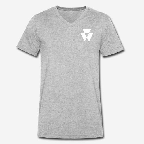 -light - Men's Organic V-Neck T-Shirt by Stanley & Stella