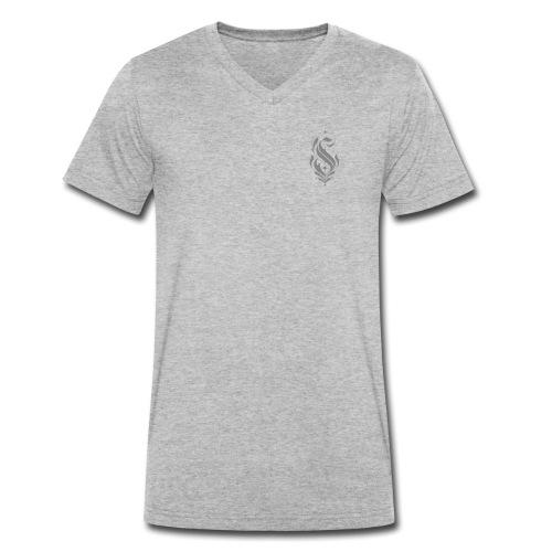 eSSe - T-shirt ecologica da uomo con scollo a V di Stanley & Stella