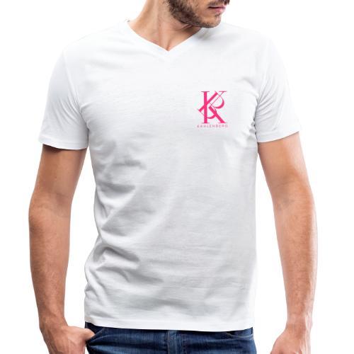 Kahlenberg Logo Design - Männer Bio-T-Shirt mit V-Ausschnitt von Stanley & Stella