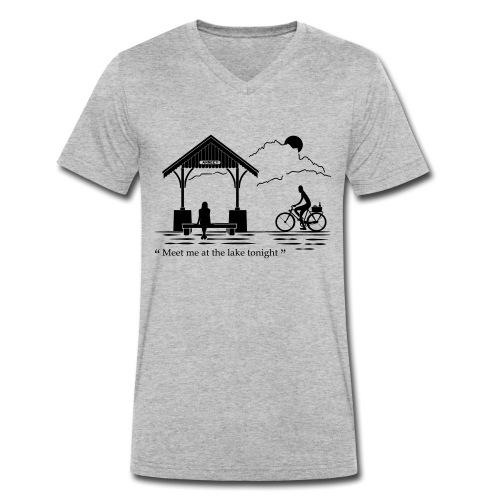 Meet me at annecy lake - T-shirt bio col V Stanley & Stella Homme