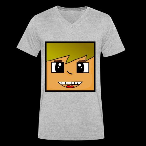 Kopf - Männer Bio-T-Shirt mit V-Ausschnitt von Stanley & Stella