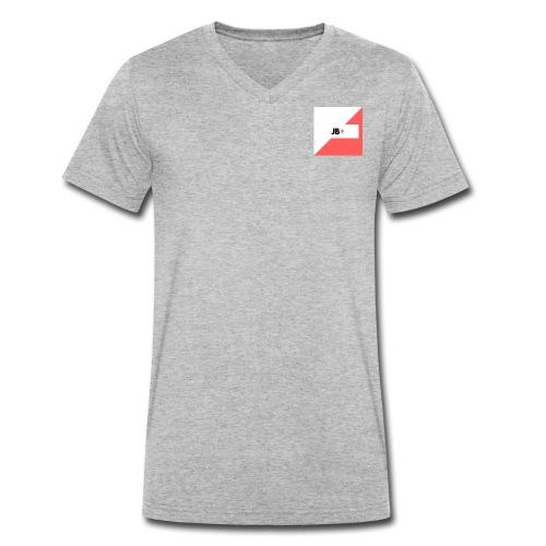 JB - Men's Organic V-Neck T-Shirt by Stanley & Stella