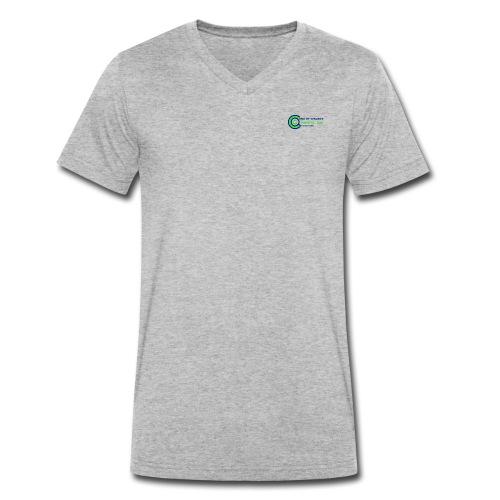 eot75 - Men's Organic V-Neck T-Shirt by Stanley & Stella