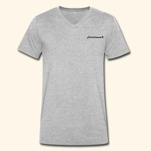 Freischnauze (R) - Männer Bio-T-Shirt mit V-Ausschnitt von Stanley & Stella