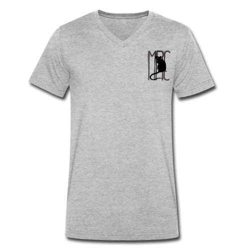 MRC Banksy rat black - Men's Organic V-Neck T-Shirt by Stanley & Stella