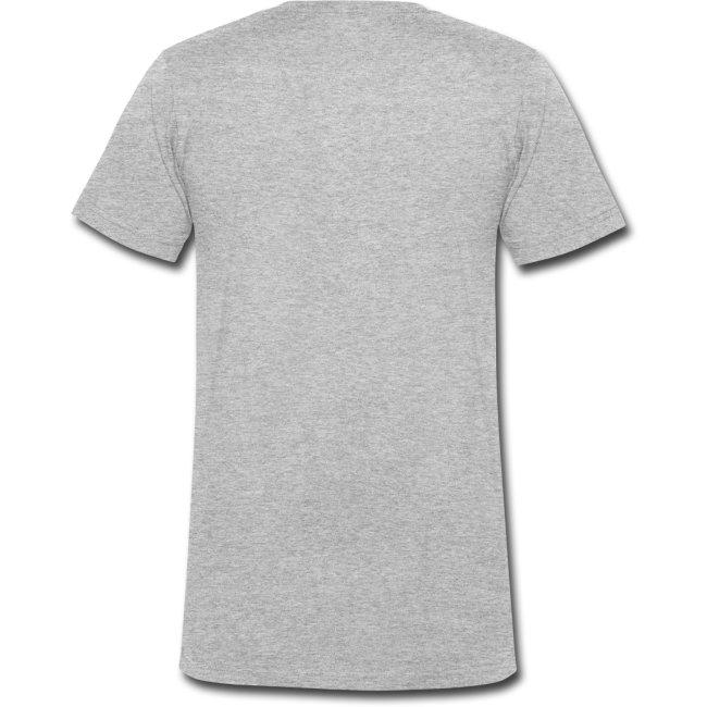 T-shirt för resan med vita ikoner