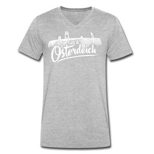 This is Osterdeich - Männer Bio-T-Shirt mit V-Ausschnitt von Stanley & Stella