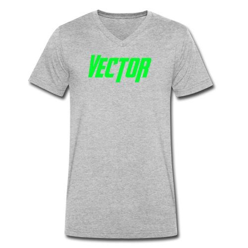 Vector Green - T-shirt ecologica da uomo con scollo a V di Stanley & Stella
