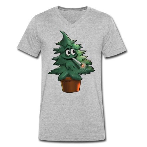 Trip-Tanne - Männer Bio-T-Shirt mit V-Ausschnitt von Stanley & Stella