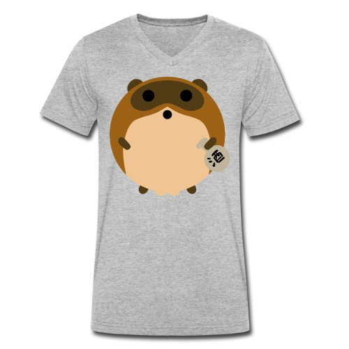 TANUKI - T-shirt bio col V Stanley & Stella Homme
