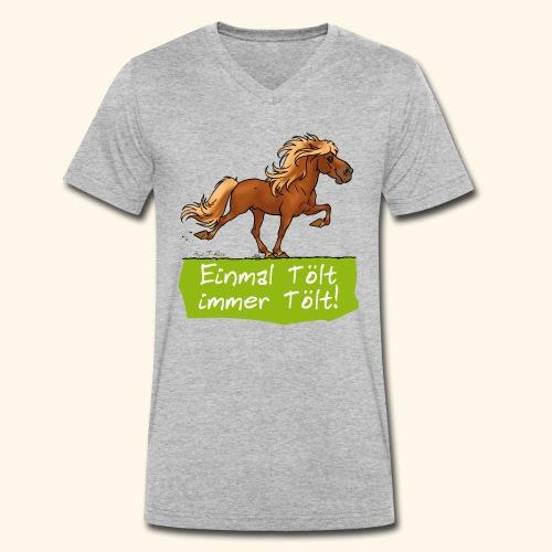 Island Pferd Tölt - T-shirt bio col V Stanley & Stella Homme