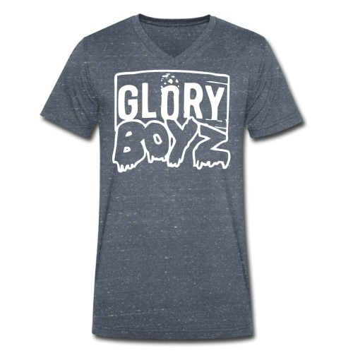 GB 1color - Men's Organic V-Neck T-Shirt by Stanley & Stella