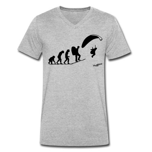 Evolution (2) - Männer Bio-T-Shirt mit V-Ausschnitt von Stanley & Stella