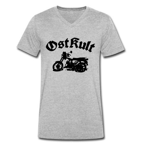 OstKult - Männer Bio-T-Shirt mit V-Ausschnitt von Stanley & Stella