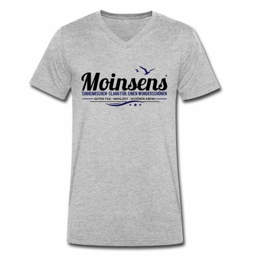 MOINSENS - Männer Bio-T-Shirt mit V-Ausschnitt von Stanley & Stella