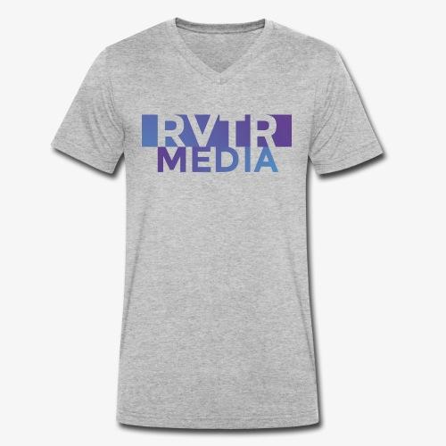 RVTR media NEW Design - Männer Bio-T-Shirt mit V-Ausschnitt von Stanley & Stella