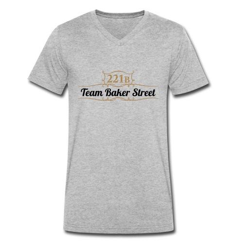 Team Baker Street - Männer Bio-T-Shirt mit V-Ausschnitt von Stanley & Stella