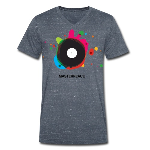 MasterPeace V-hals t-shirt - Mannen bio T-shirt met V-hals van Stanley & Stella