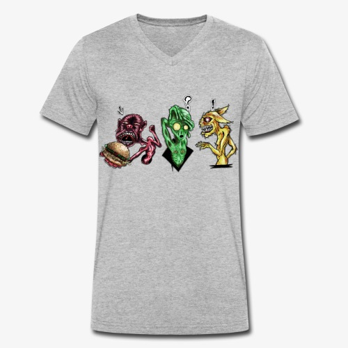 Weird communication - T-shirt bio col V Stanley & Stella Homme