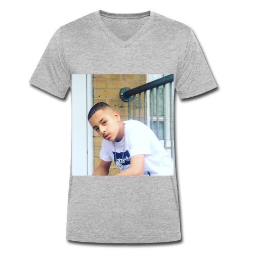RomeosMerch - Men's Organic V-Neck T-Shirt by Stanley & Stella