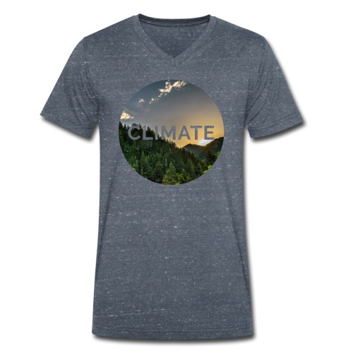 CLIMATE - Men's Organic V-Neck T-Shirt by Stanley & Stella