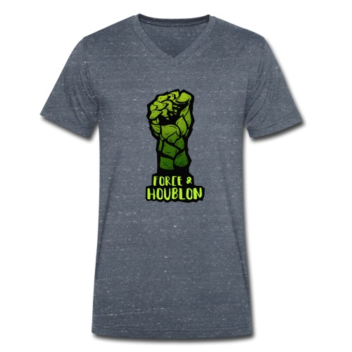 Force et houblon (Officiel) - T-shirt bio col V Stanley & Stella Homme