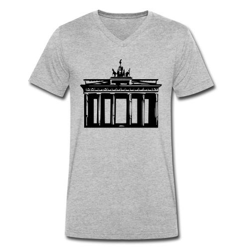Brandenburger Tor - Männer Bio-T-Shirt mit V-Ausschnitt von Stanley & Stella