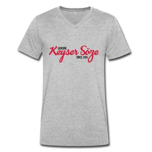 Keyser Söze Logo - Männer Bio-T-Shirt mit V-Ausschnitt von Stanley & Stella