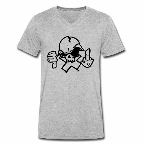 croix crane - T-shirt bio col V Stanley & Stella Homme