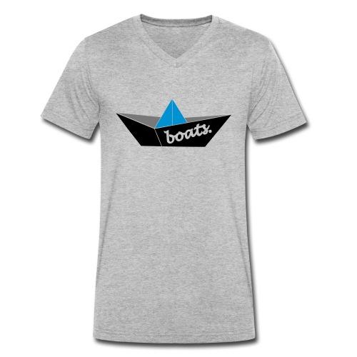 BOOT_FINAL_2 - Männer Bio-T-Shirt mit V-Ausschnitt von Stanley & Stella