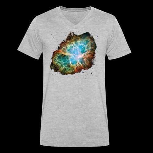 Crabnebula - Männer Bio-T-Shirt mit V-Ausschnitt von Stanley & Stella