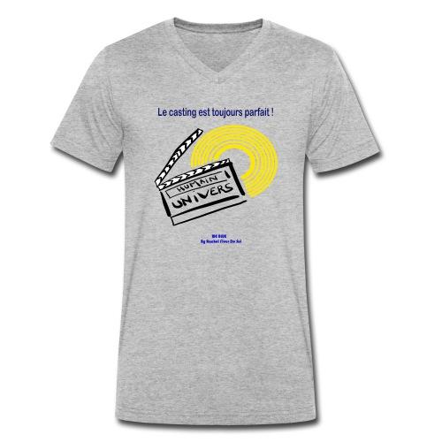 Le casting est toujours parfait - T-shirt bio col V Stanley & Stella Homme