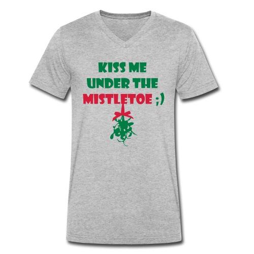mistletoe - Männer Bio-T-Shirt mit V-Ausschnitt von Stanley & Stella