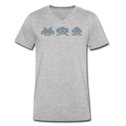Gamification - Ekologisk T-shirt med V-ringning herr från Stanley & Stella