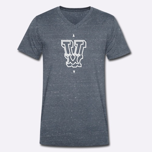 The 'V' by Heartcore Vegan - Men's Organic V-Neck T-Shirt by Stanley & Stella