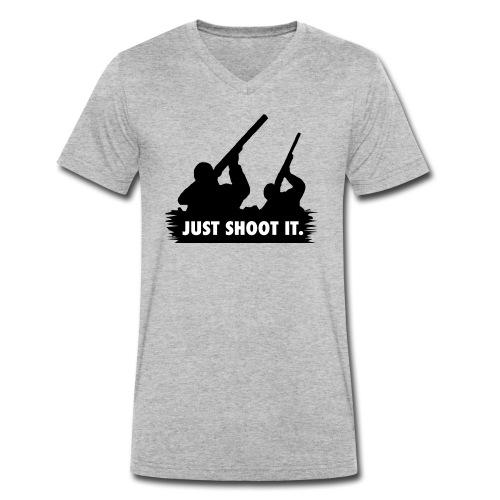 Just shoot it. - T-shirt bio col V Stanley & Stella Homme