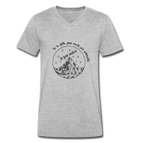 selestelleN - T-shirt ecologica da uomo con scollo a V di Stanley & Stella
