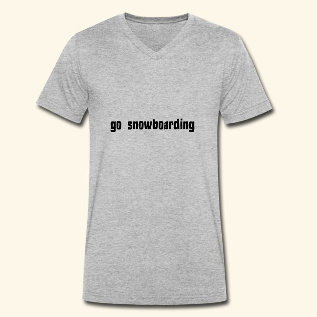 go snowboarding t-shirt geschenk idee