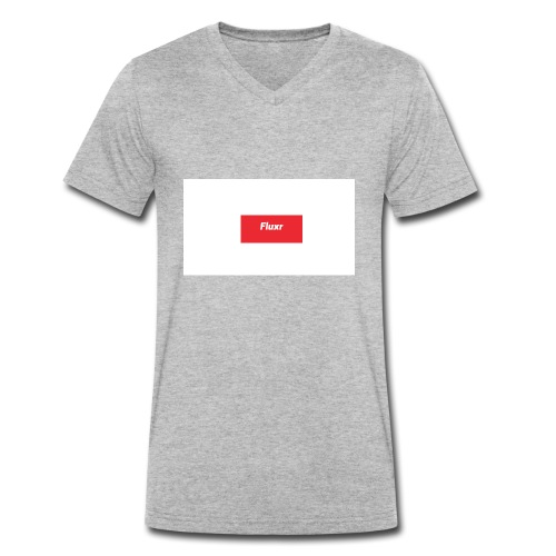 Fluxr 4 - Ekologisk T-shirt med V-ringning herr från Stanley & Stella