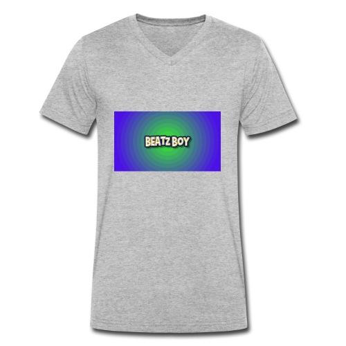 Beatz Boy - Men's Organic V-Neck T-Shirt by Stanley & Stella