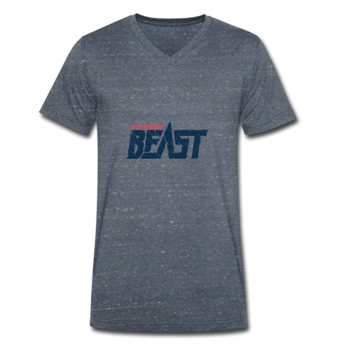 Hyper Beast - Men's Organic V-Neck T-Shirt by Stanley & Stella