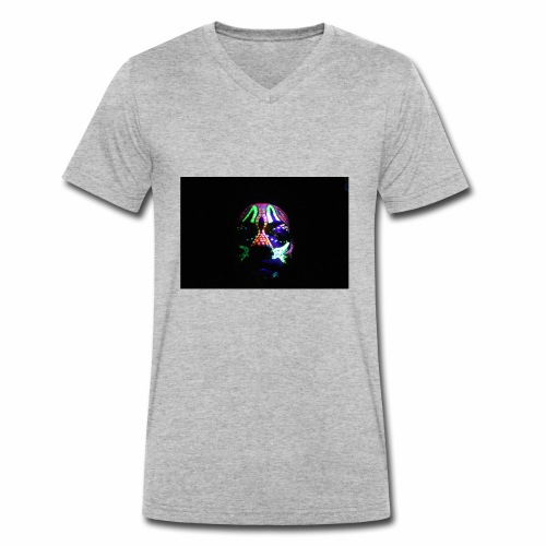 Humam chameleom - Men's Organic V-Neck T-Shirt by Stanley & Stella